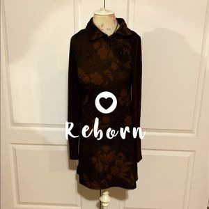 Reborn fall 🍂 dress NWT side buttons